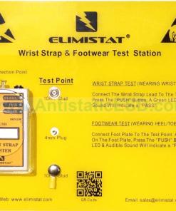 Wrist Strap and Footwear Test Station