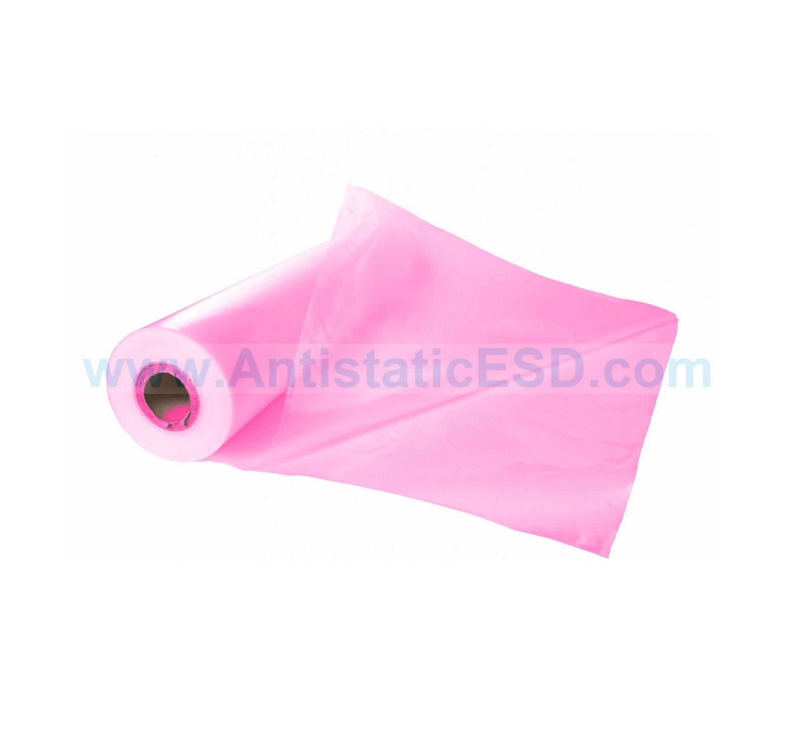 Anti Static Products : Pink anti static centrefold sheeting esd