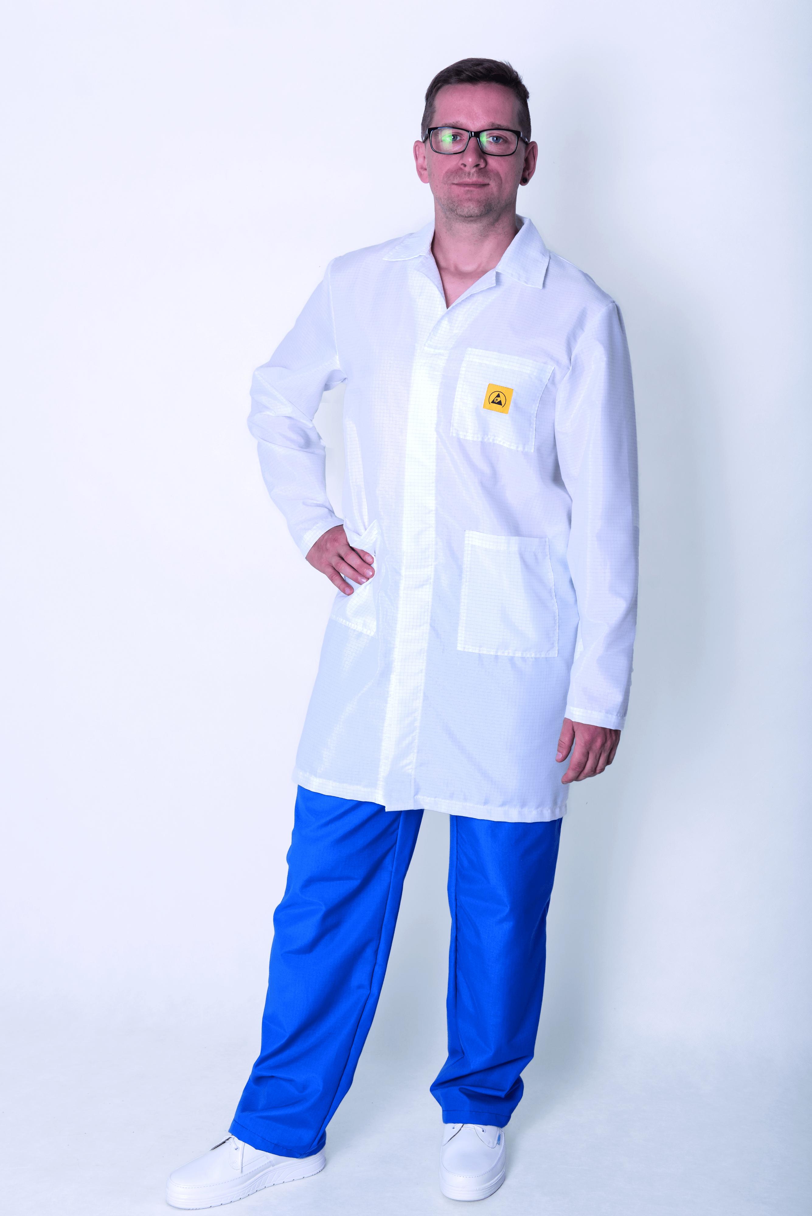 Esd Cleanroom Lab Coats Anti Static Esd Anti Static